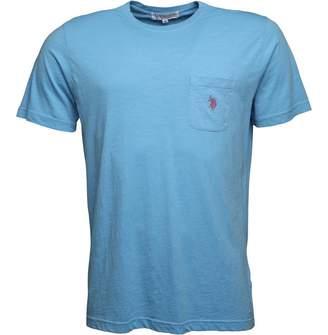 U.S. Polo Assn. Mens York T-Shirt Ethereal Blue