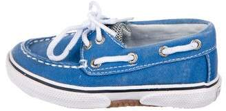 Sperry Boys' Canvas Boat Shoes