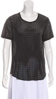 Equipment Perforated Short Sleeve T-Shirt
