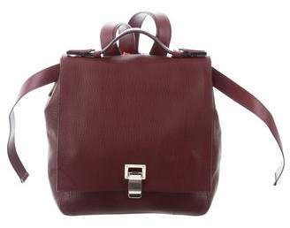 Proenza Schouler Leather Courier Backpack
