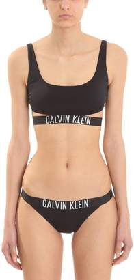 Calvin Klein (カルバン クライン) - Calvin Klein Black Nylon Bikini Brassiere