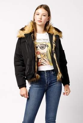 Doma Fur Collar Waterproof Jacket