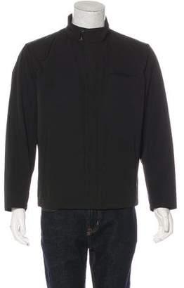Prada Windbreaker Zip-Up Jacket