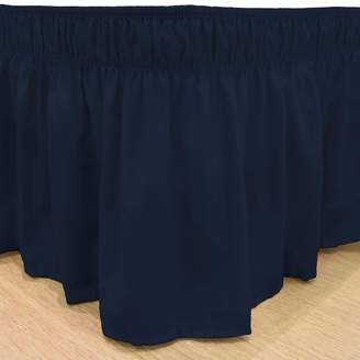 Kohl's EasyFit Wrap Around Solid Ruffled Bed Skirt