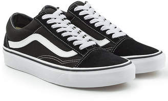 Vans Old Skool Sneakers with Leather