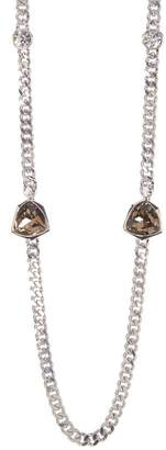 Givenchy Crystal Chainlink Necklace