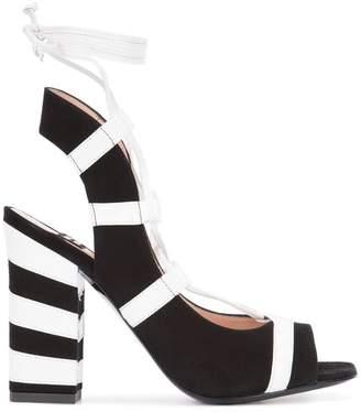 Moschino striped sandals