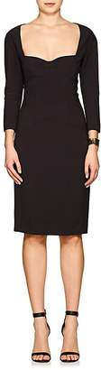 Narciso Rodriguez Women's Scuba Stretch-Crepe Fitted Dress