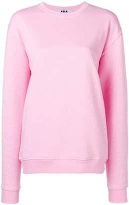 MSGM printed sweatshirt