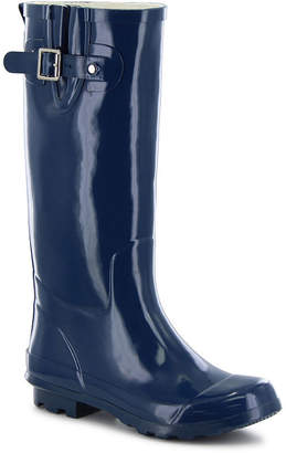 Western Chief Womens Classic Tall Rain Boots Waterproof Flat Heel Pull-on Wide