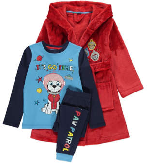 George PAW Patrol Dressing Gown and Pyjama Set