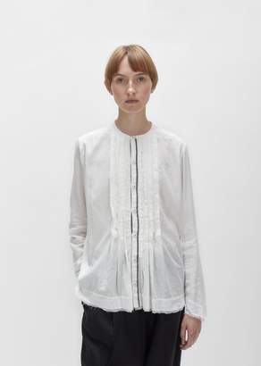 Pas De Calais Indian Cotton Blouse White