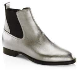 Rag & Bone Mason Metallic Leather Chelsea Boots
