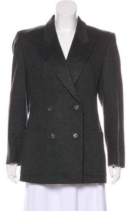 Burberry Double-Breasted Cashmere Jacket