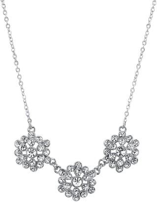 1928 Crystal Cluster Necklace