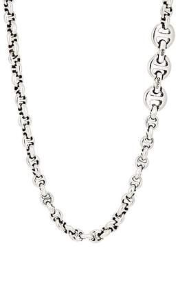 HOORSENBUHS Men's Tri-Link Chain Necklace
