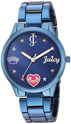 Juicy Couture Black Label Women's Swarovski Crystal Accented Bracelet Watch