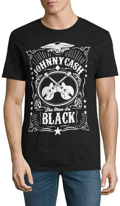 Novelty T-Shirts Johnny Cash Man In Black Graphic Tee