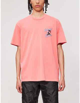 Selfridges Just Don Graphic-print oversized cotton-jersey T-shirt