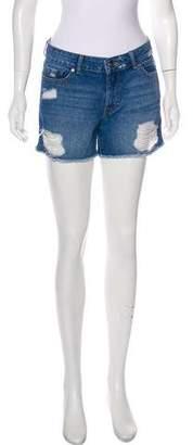 DL1961 Mid-Rise Mini Shorts