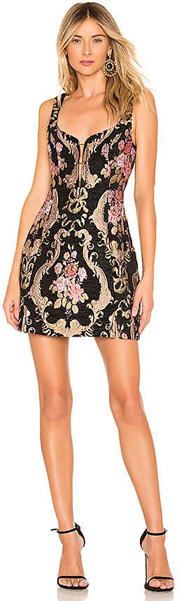 Brocade Tapestry Mini Dress