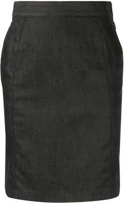 Celine Pre-Owned denim pencil skirt