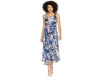 Nine West Multi Tier Maxi Dress Women's Dress