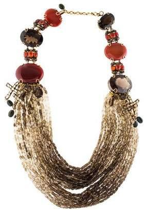 Iradj Moini Multistone Draped Necklace