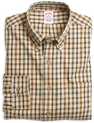 Brooks Brothers BrooksFlannel Regular Fit Bold Check Sport Shirt