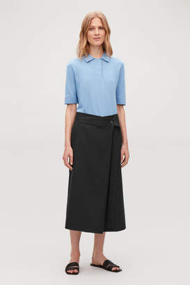 Cos WIDE-BELT WRAP SKIRT