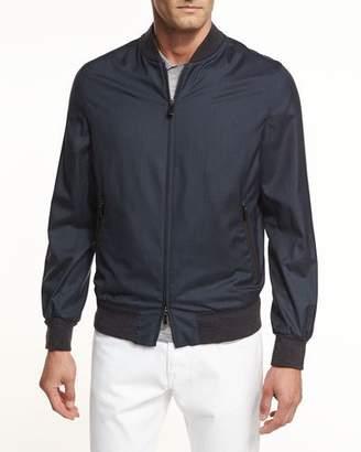Ermenegildo Zegna Second Skin Lightweight Bomber Jacket $1,995 thestylecure.com