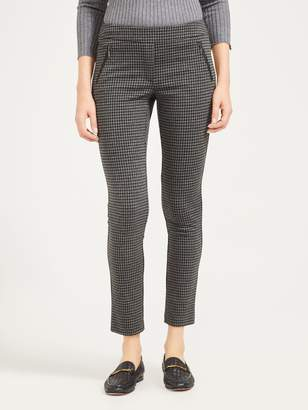 Ross Pants in Houndstooth Jacquard