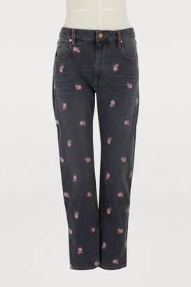 Etoile Isabel Marant Cliffy cotton jeans