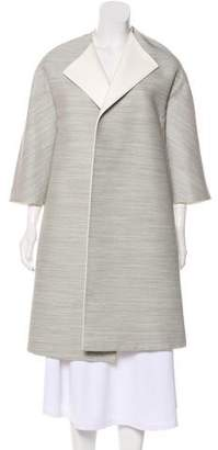 Celine Open Front Long Coat