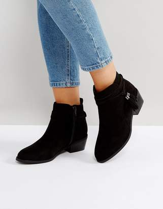 Head Over Heels By Dune by Dune Tassel Petraa Ankle Boots