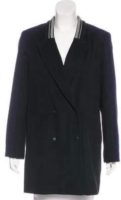 Jonathan Simkhai Wool Blend Short Coat
