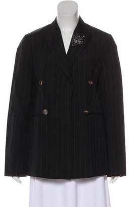 Brunello Cucinelli Wool and Linen Blazer