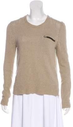 Celine Knit Linen Top