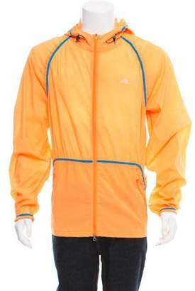 Kolor x Adidas Hooded Zip-Up Windbreaker w/ Tags
