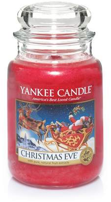 Yankee Candle Large Red 'Christmas Eve' Scented Jar Candle