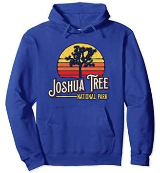 Joshua Tree National Park California Retro Vibe Hoodie