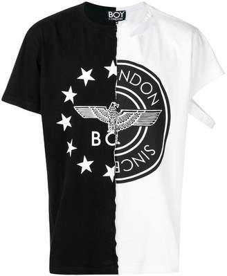 Boy London contrast logo T-shirt