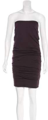 Dolce & Gabbana Ruched Knee-Length Dress