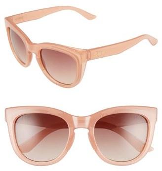 Women's Smith Optics 'Sidney' 52Mm Sunglasses - Blush/ Sienna Gradient $89 thestylecure.com