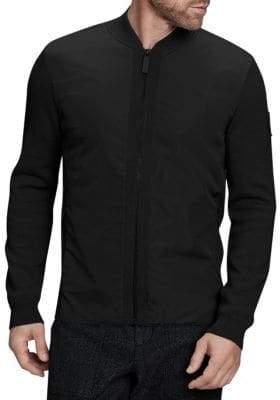 Canada Goose Woodbridge Merino Wool Zip-Up Jacket