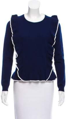 Draper James Ruffled Wool Sweater