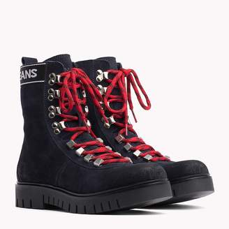 Tommy Hilfiger Tommy Jeans Lace-Up Hiking Boots