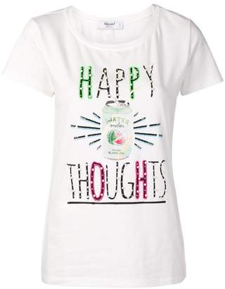 Blugirl 'Happy Thoughts' print T-shirt