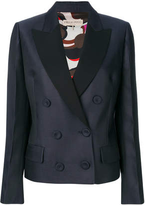 Emilio Pucci double-breasted tuxedo jacket