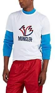 Moncler 2 1952 Men's Logo-Graphic Cotton T-Shirt - White